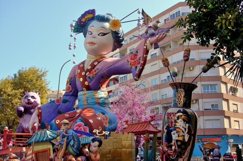 Фестиваль Las Fallas