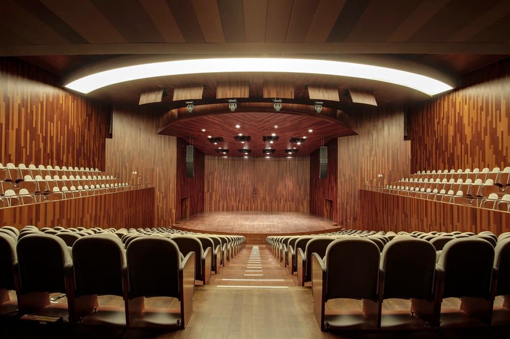 Барселонский концертный зал Л'Аудитори