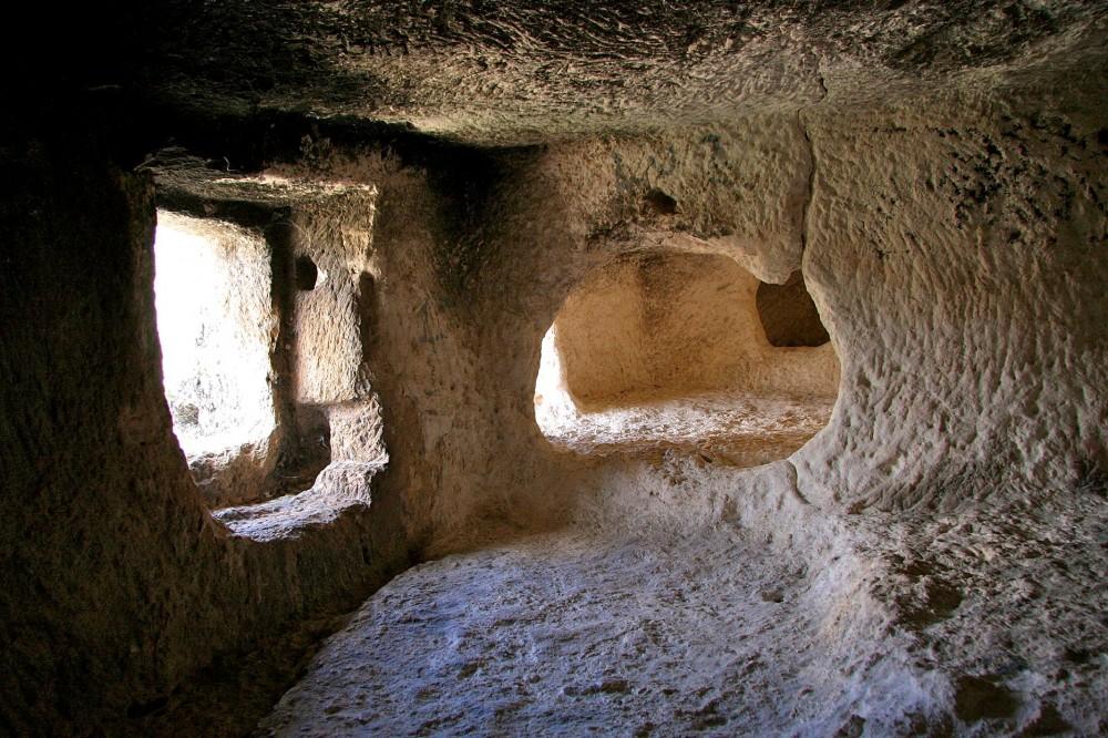 Внутри Мавританских пещер (фото: marathoniano)