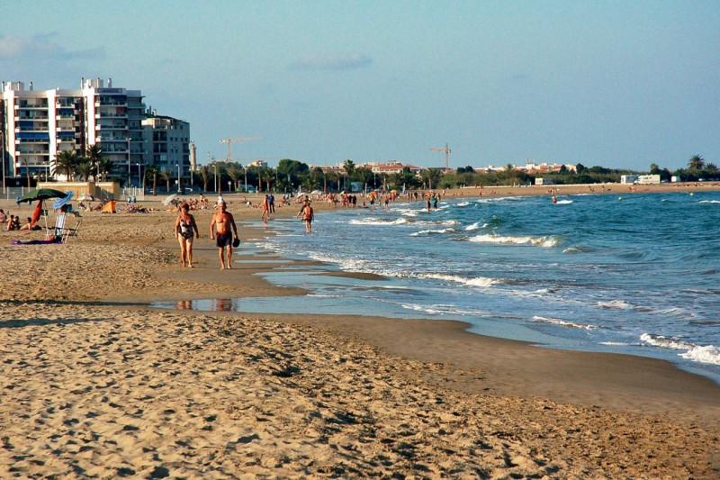 Пляж Пуэрто Сагунто
