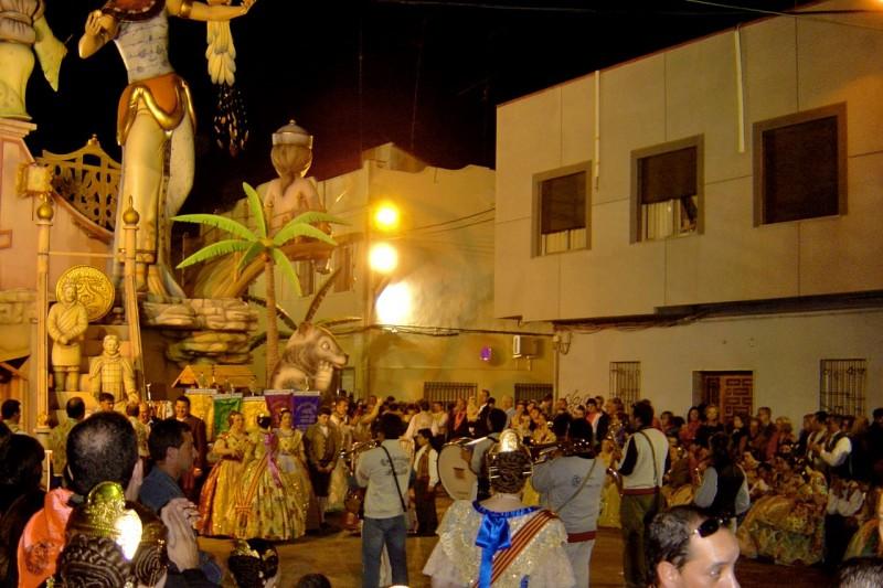 Карнавал Лас Фальяс в Sagunt