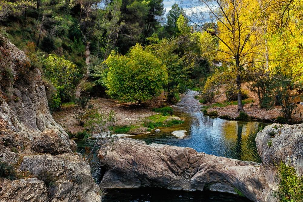 Красивые пейзажи на реке Клариано (фото: Gonzalo Conde Sáez)