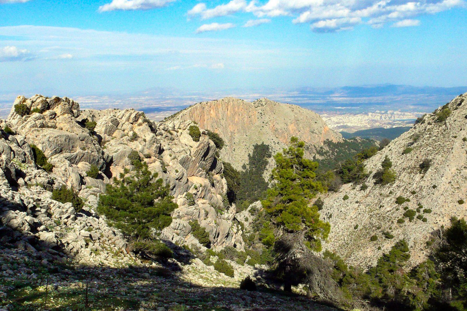Региональный парк Sierra Espuña