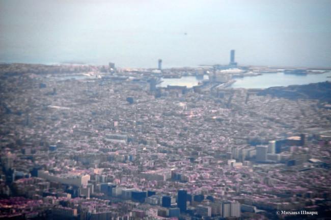А вот и Барселона