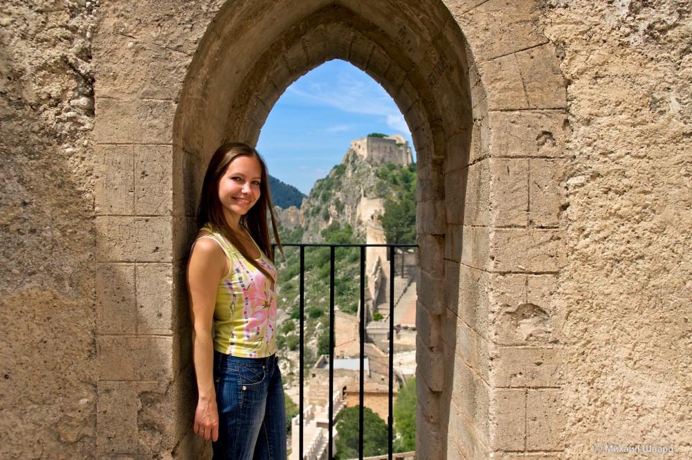 Вид из Castillo Menor