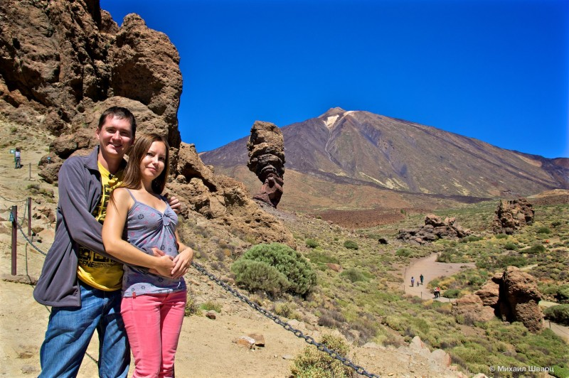 Высочайшая точка Испании – вулкан Тейде