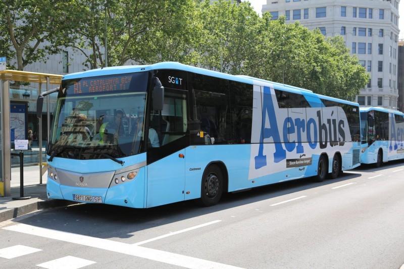 Aerobus – дешевые автобусы из аэропорта в Барселону