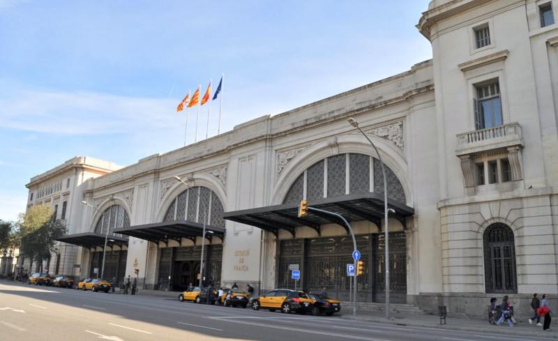 Французский вокзал в Барселоне (Estació de França)