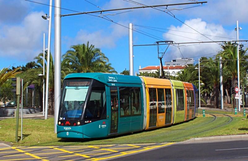 Трамвай L1: Санта-Крус – Ла Лагуна