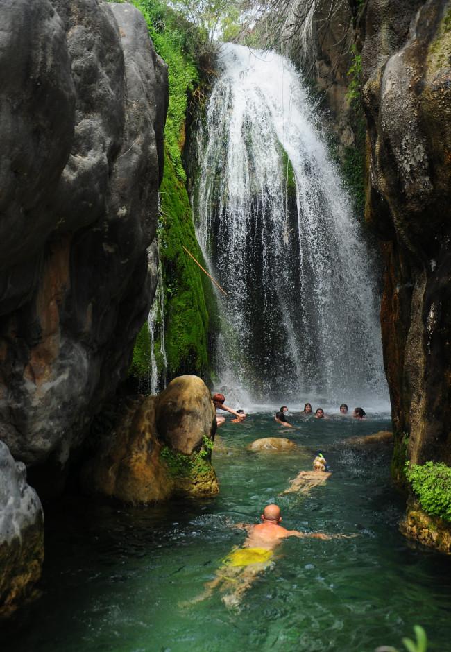 Водопады Алгар (Fuentes del Algar)
