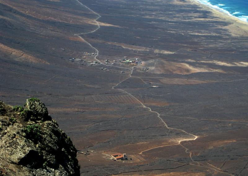 Вилла Винтера с вершины Пико-де-ла-Сарса