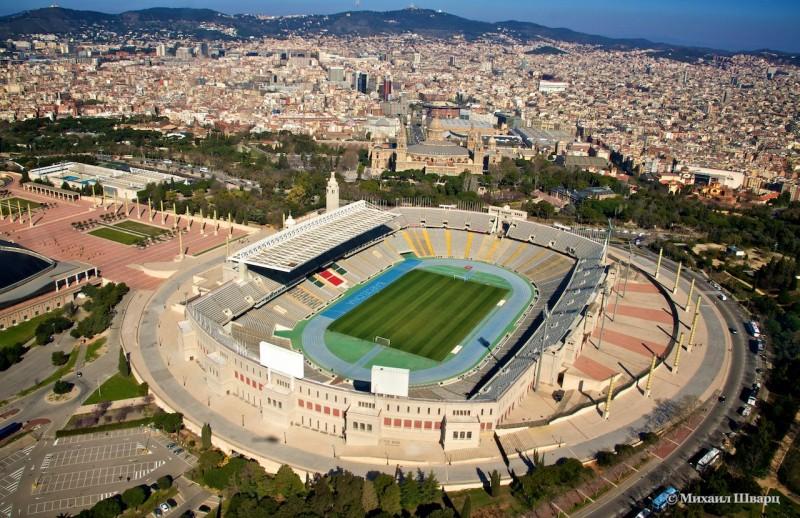 Олимпийский стадион имени Льюиса Компаниса (Estadi Olímpic Lluís Companys)