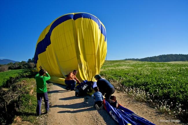 Спускаем воздушны шар