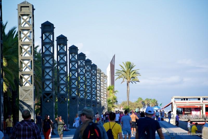 Олимпийская деревня (La Villa Olimpica)