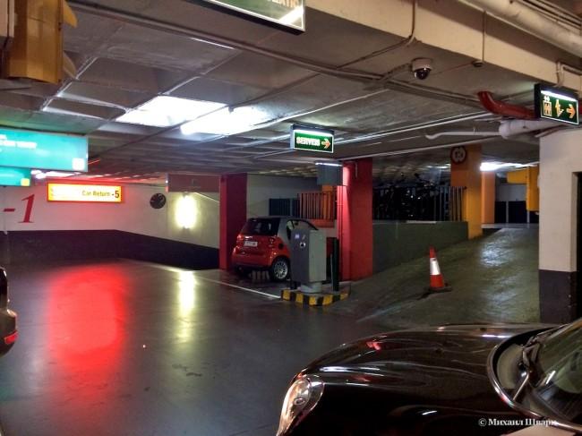 Паркинг в Барселоне за €15 в сутки