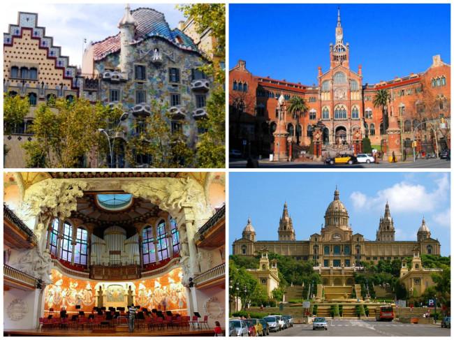 Барселона эпохи модерн €25