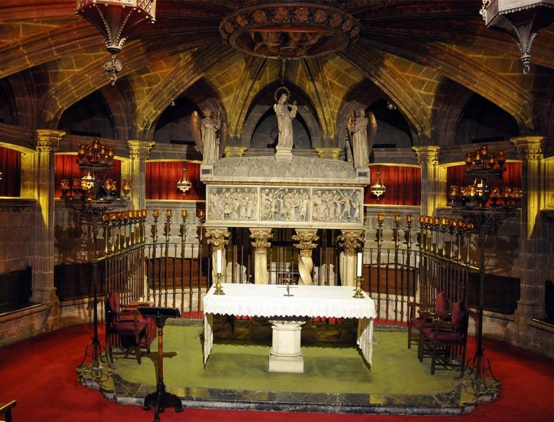 Склеп Святой Евлалии (Cripta de Santa Eulalia)