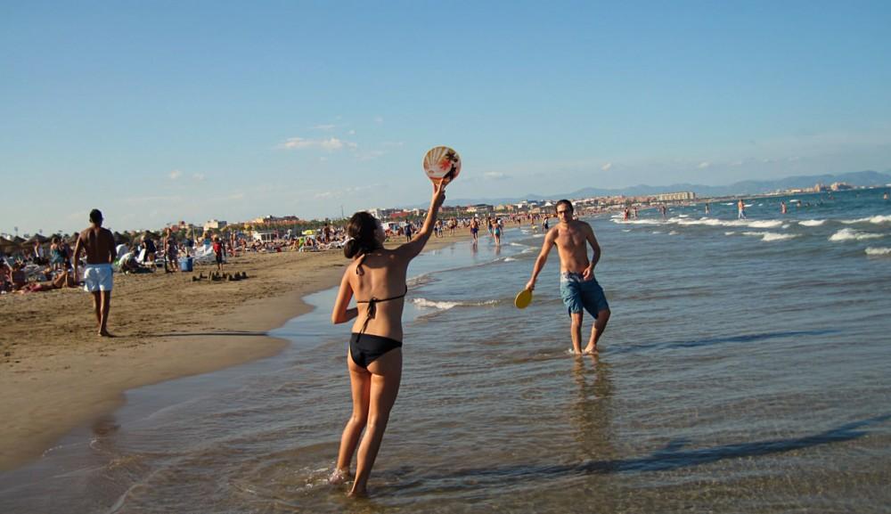Пляж Лас Аренас (Playa las Arenas)