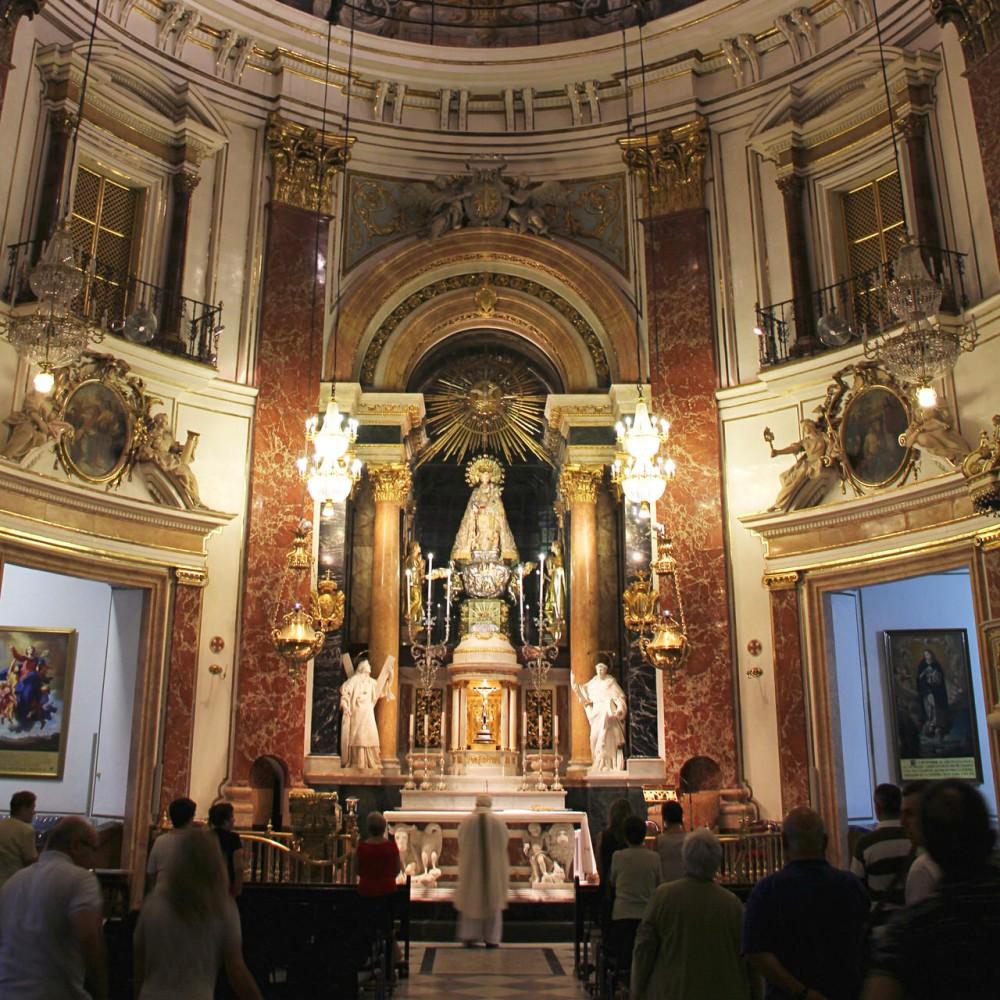 Алтарь Базилики Святой Девы Отверженных