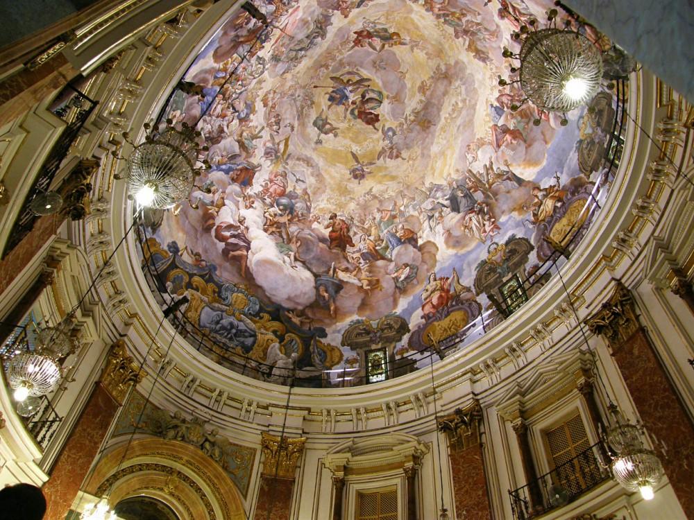 Купол Базилики Святой Девы Отверженных