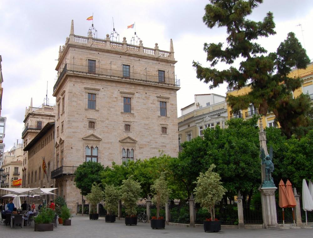 Дворец Валенсийского правительства (Palacio de la Generalidad Valenciana)