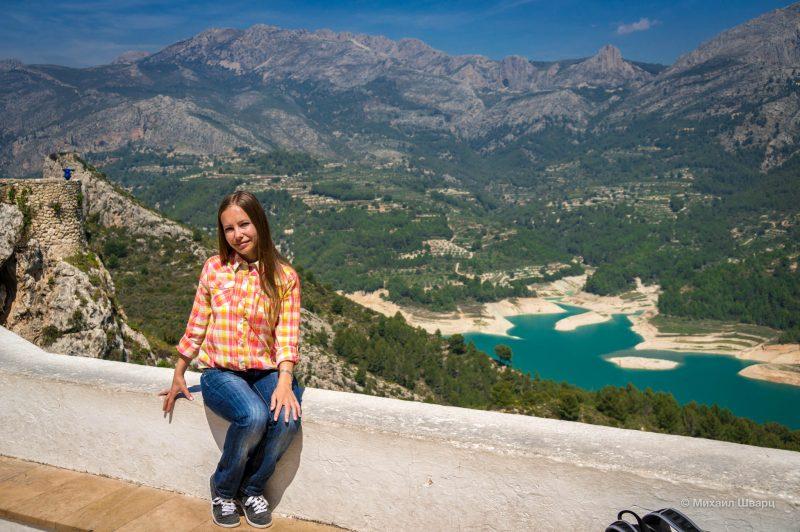 Водохранилище Гуадалест (Embassament de Guadalest)