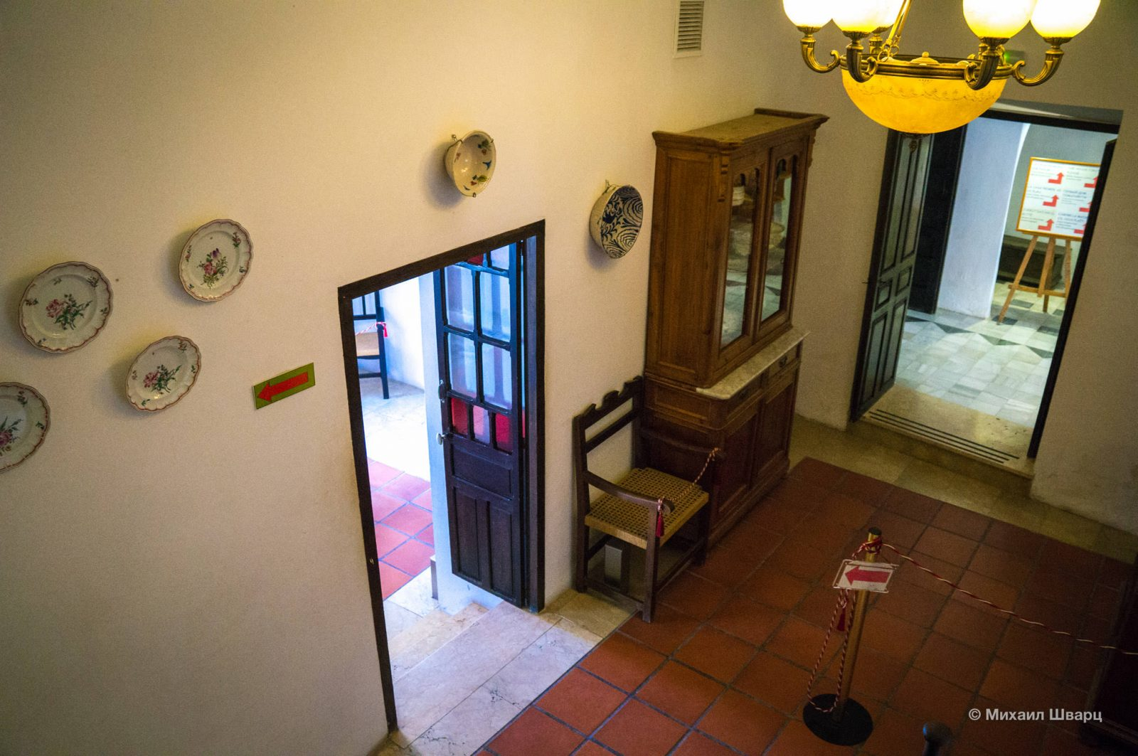 Внутри дома Ордунья