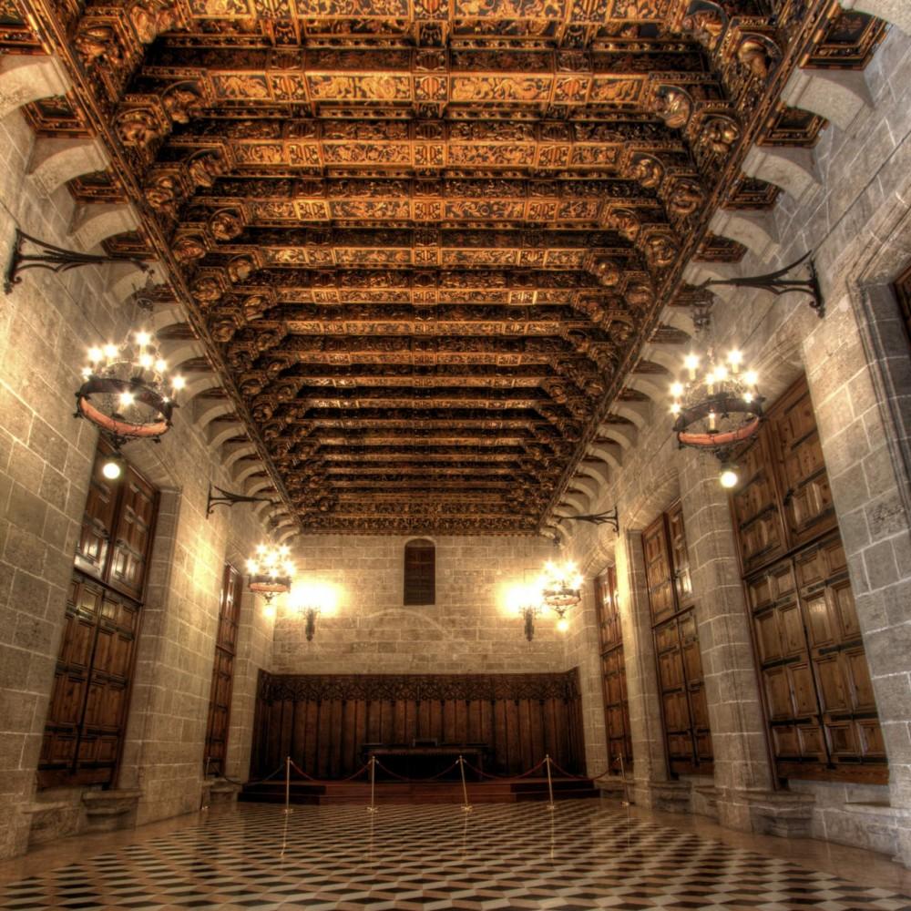 Зал Золотая палата (Cámara Dorada)