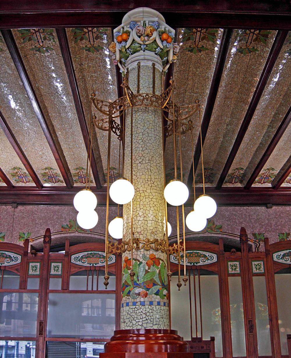Колонны главного вестибюля
