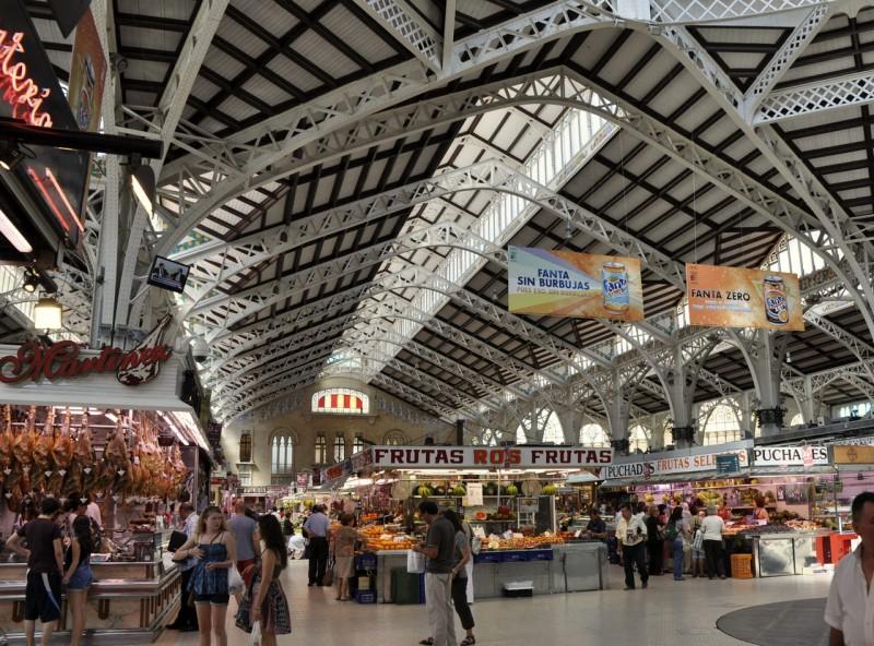 Фруктово-овощные ряды Центрального рынка