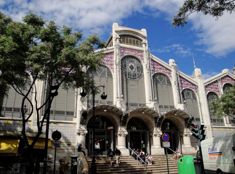 Центральный рынок Валенсии (Mercado Central de Valencia)
