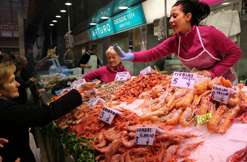 Рыбные ряды Центрального рынка