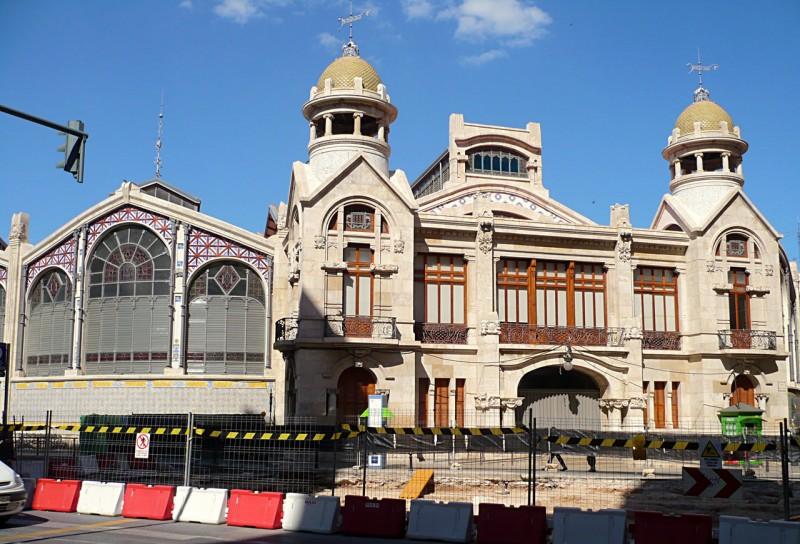 Задний фасад Центрального рынка