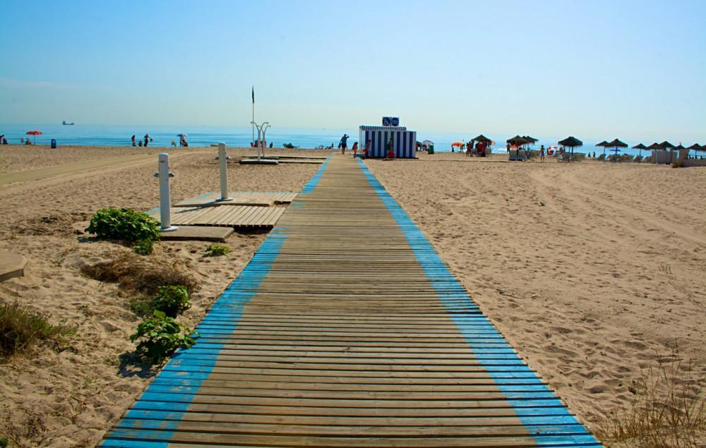 Пляж Эль Салер (Playa El Saler)