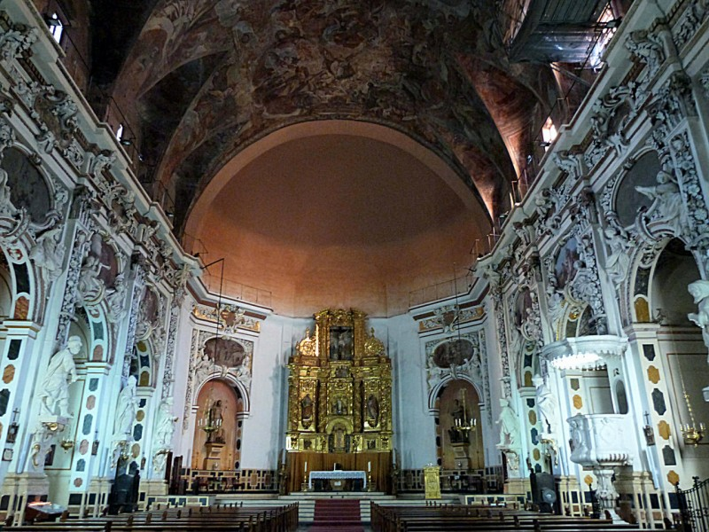 Алтарь Церкови Сан-Хуан-дель-Меркадо