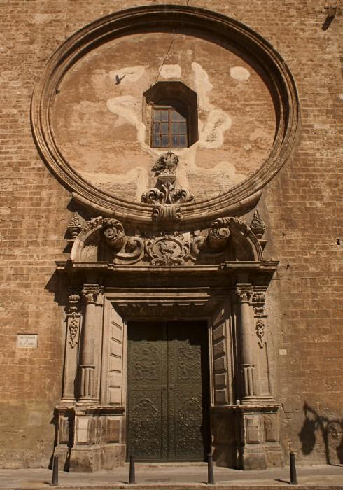 Главный фасад Церковьи Сан-Хуан-дель-Меркадо