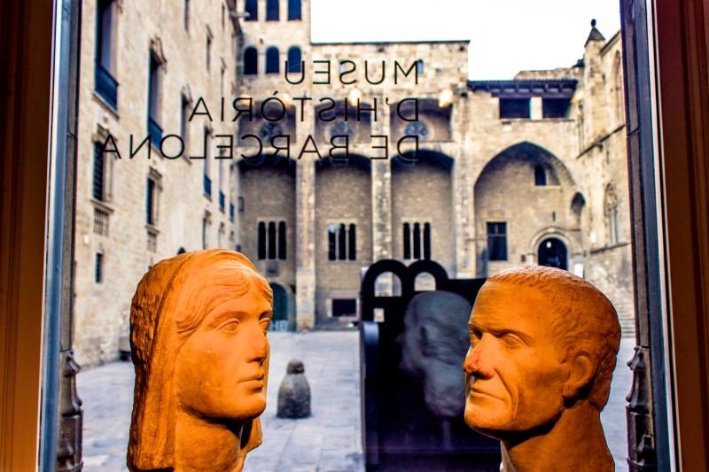 Музей истории города Барселона на площади Короля