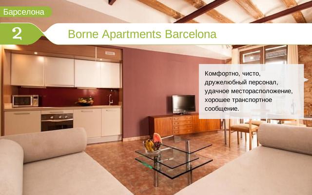 Отель Borne Apartments Barcelona
