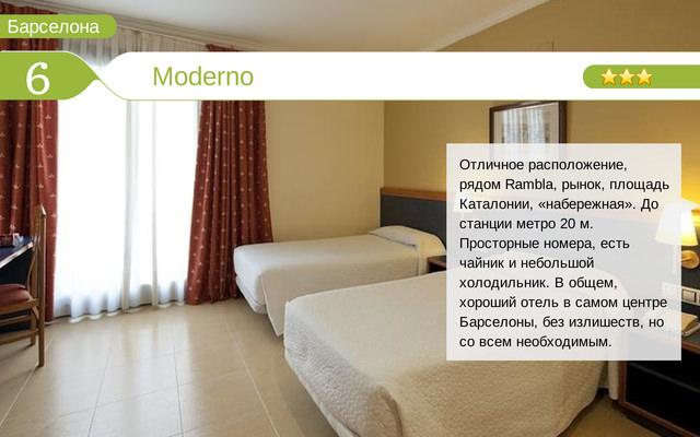 Отель Moderno
