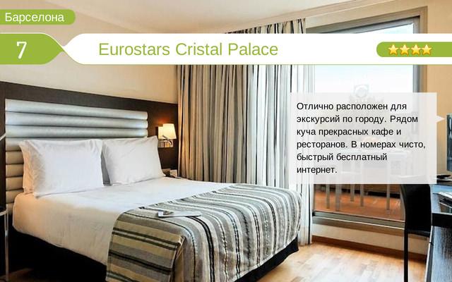Отель Eurostars Cristal Palace
