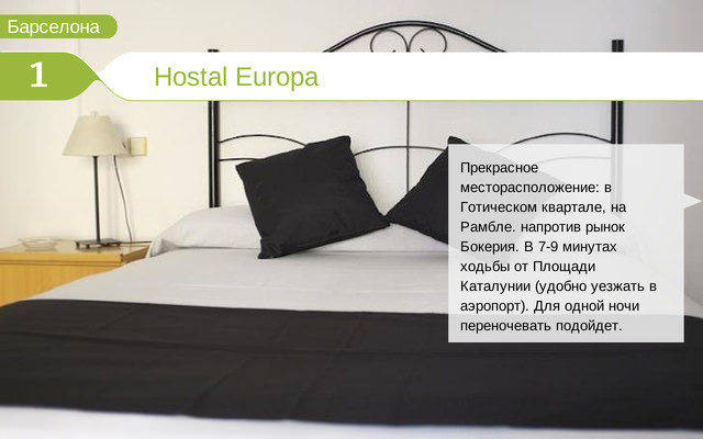 Отель Hostal Europa