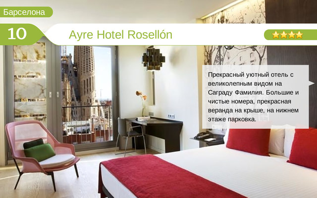 Отель Ayre Hotel Rosellón