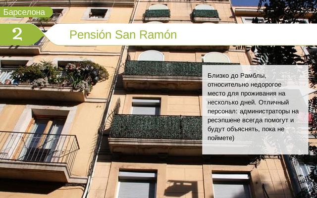 Отель Pensión San Ramón