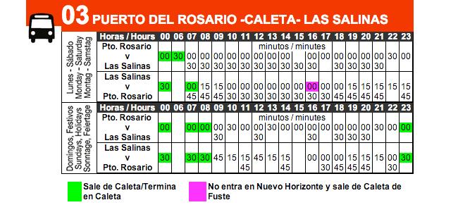 Расписание 3 автобуса