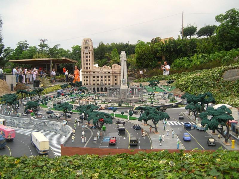 Парк миниатюр на острове Тенерифе