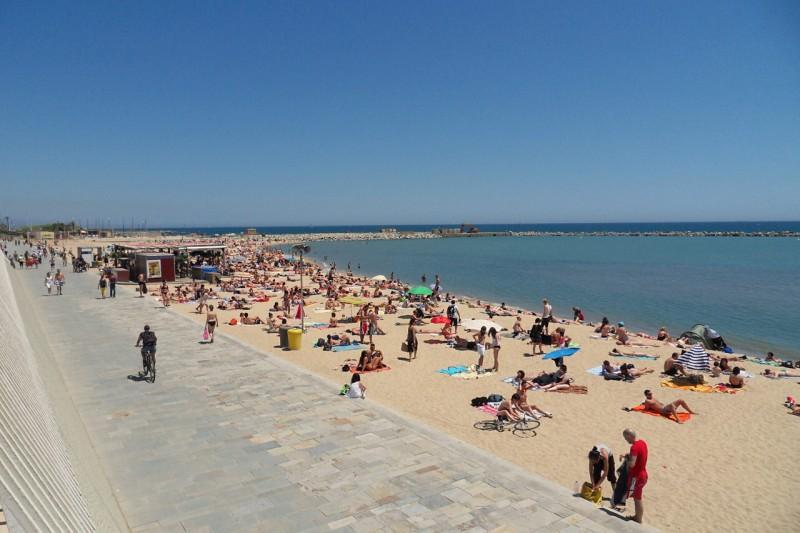 Богатель – одним из лучших «олимпийских» пляжей Барселоны