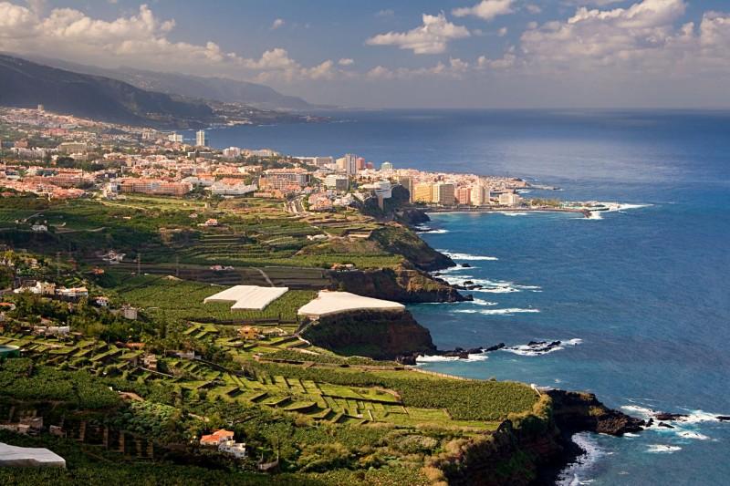 Северное побережье Тенерифе, горлд Puerto de la Cruz