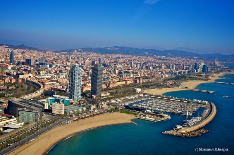 Пляжи и Олимпийский порт