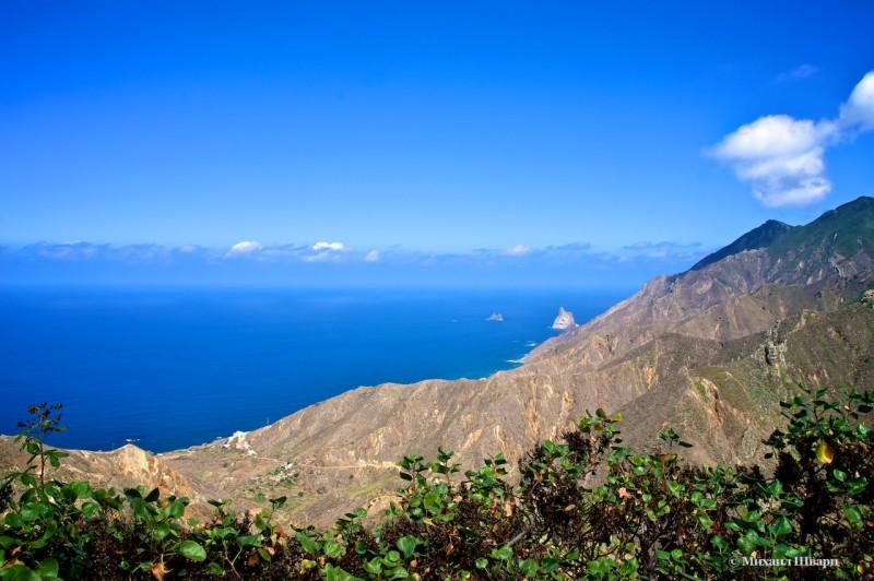 Северные берега Тенерифе