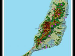 Карты Фуэртевентуры
